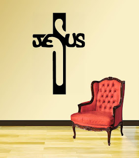 Jesus wallpaper for interior design