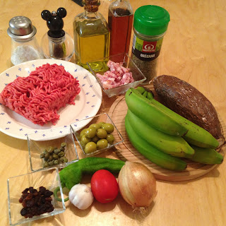 Alcapurrias, ingredientes 2