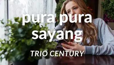 kunci gitar pura pura sayang trio century