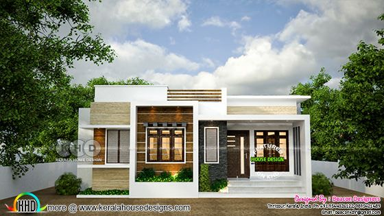 Small budget Kerala home design