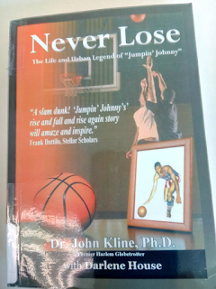 Cover of Never Lose, an autobiography by John Kline