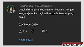 Cara Melihat Orang Yang Menyukai Komentar Kita di YouTube