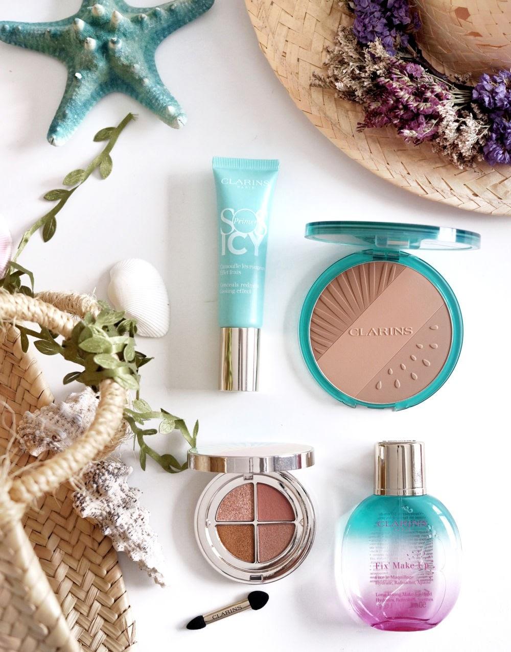 Frozen Summer, la colección de maquillaje más refrescante de Clarins