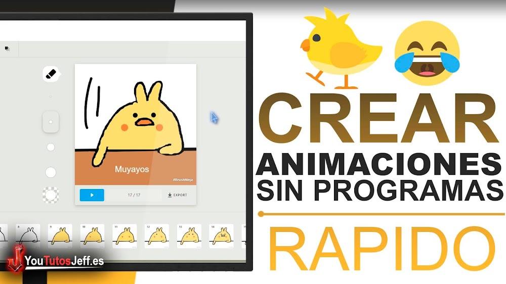 Crear Animaciones Divertidas Sin Programas