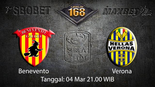 BOLA88 - PREDIKSI TARUHAN BOLA BENEVENTO VS VERONA 4 MARET 2018 ( ITALIAN SERIE A )