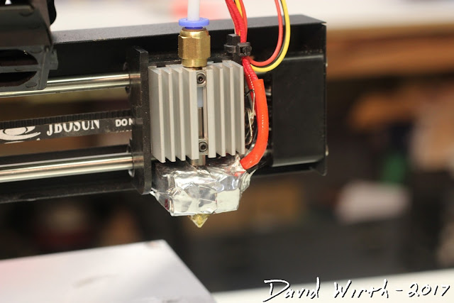 insulate hotend, 3d printer