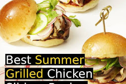 Best Summer Grilled Chicken Sliders Recipe