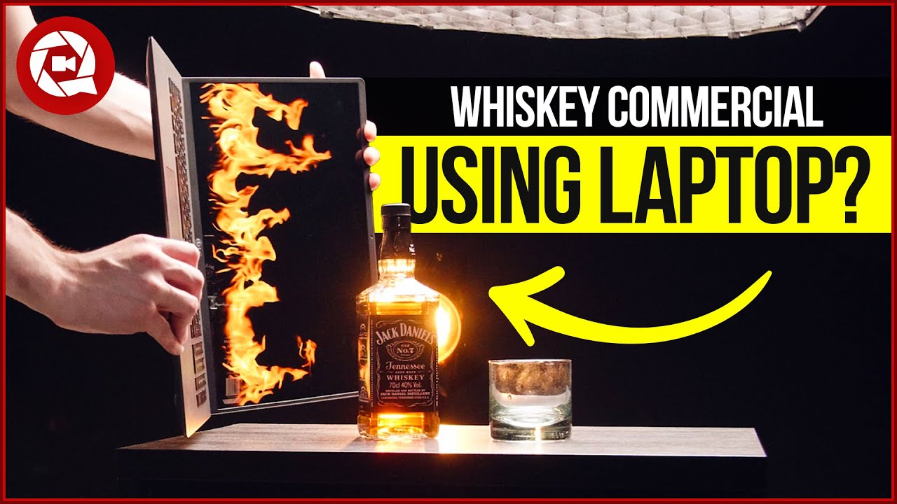 Get EPIC B-ROLL using a LAPTOP (Whiskey Commercial)