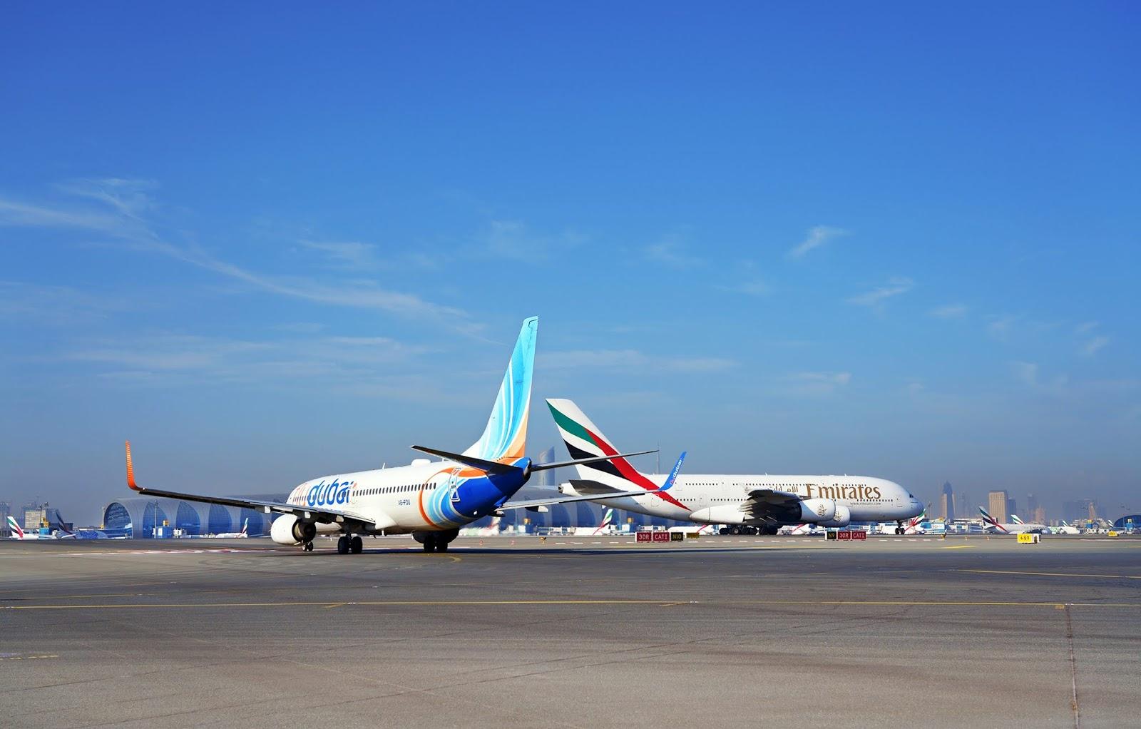Emirates e FlyDubai comemoram terceiro ano de parceria estratégica | É MAIS QUE VOAR
