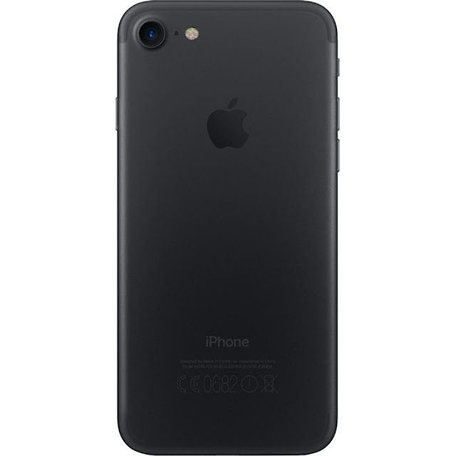 "iPhone 7 32GB Preto Matte Tela 4.7"" iOS 10 4G Câmera 12MP Apple"