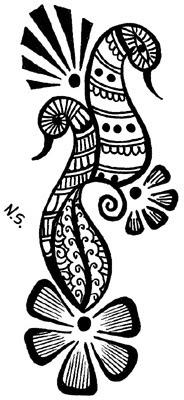 59+ Henna Tattoo Designs, Ideas | Design Trends - Premium ... |Henna Tattoo Design Animals