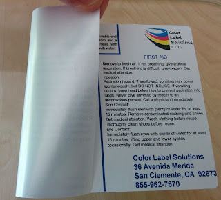 Removable C3500 Label