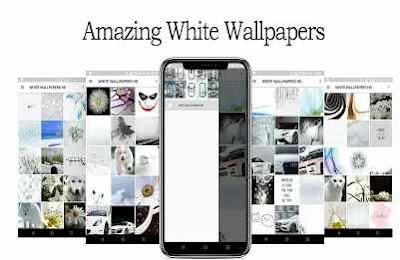White Wallpaper HD Full Screen
