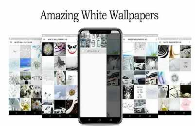 White Wallpaper HD Full Screen