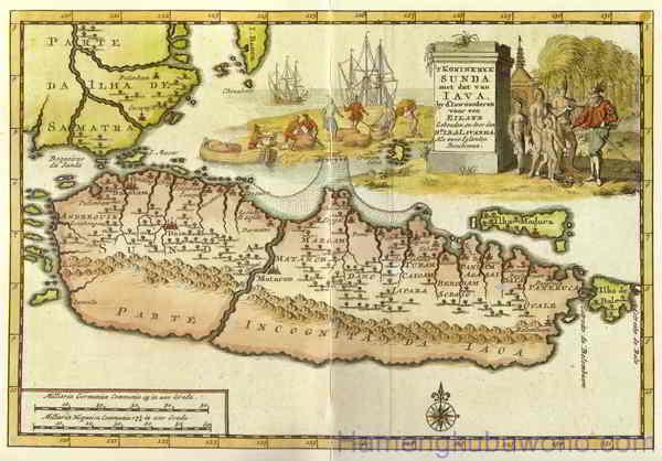 Gambar Peta Jawa Kuno