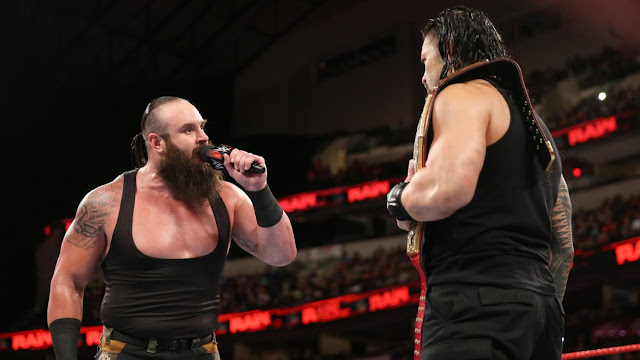 WWE Raw Results Brawn Strawman and Roman Reigns