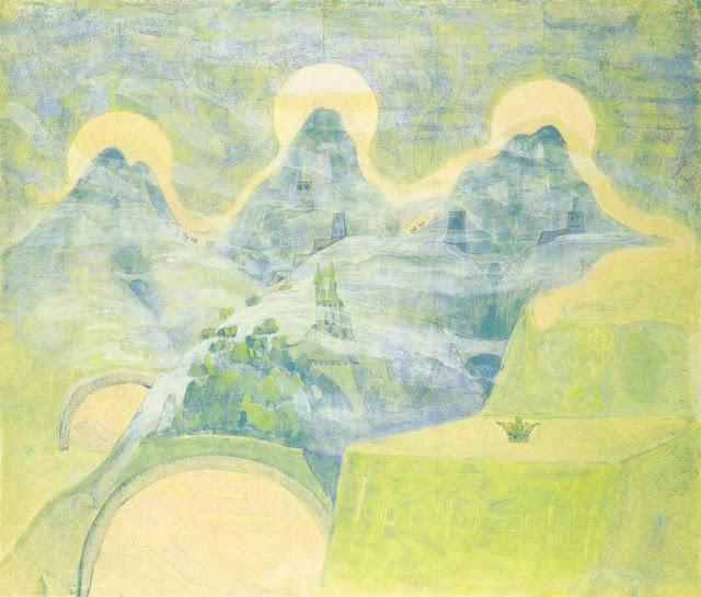 Чюрлёнис Микалоюс Константинас - Финал (Соната змеи). 1908