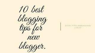 Blogging Tips For Beginners- Best chrome extension