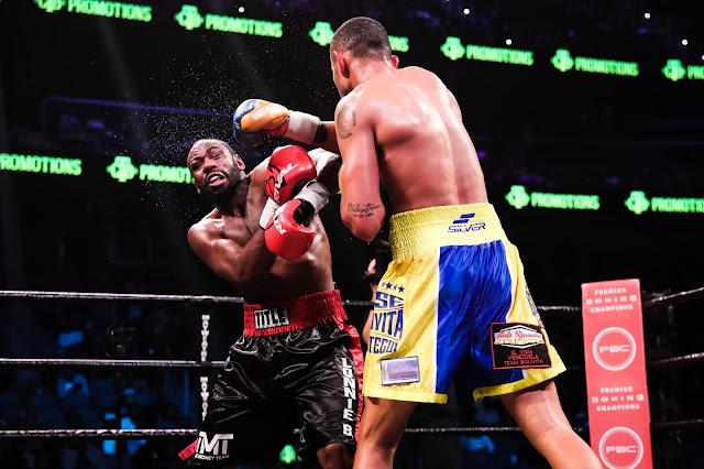 Thompson Beats Uzcategui