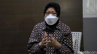 Risma: Pemerintah Tak Bisa Terus Kasih Bansos, Patuhi Protokol Kesehatan!