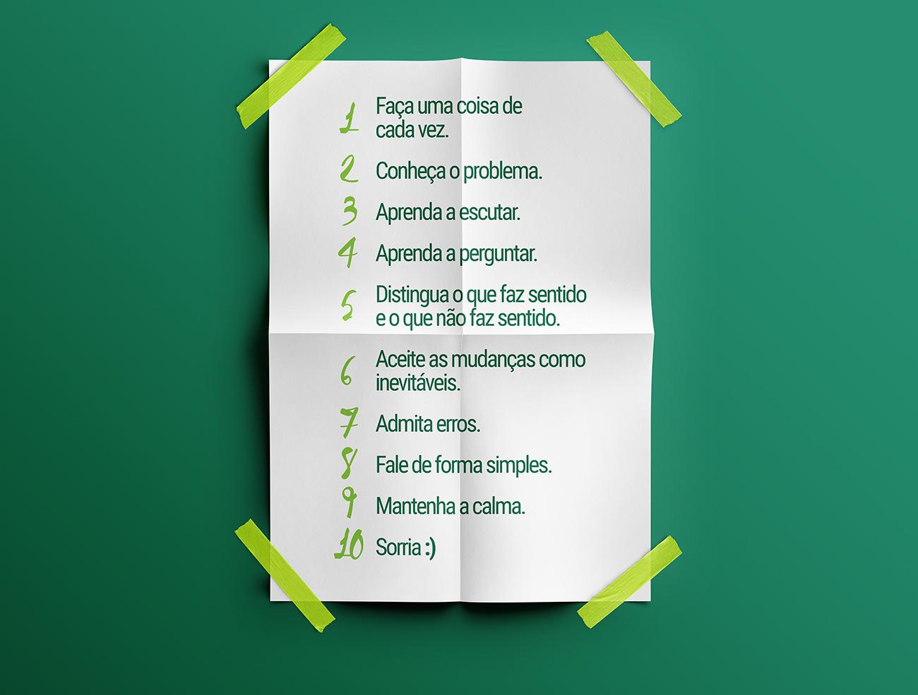 10 dicas básicas para se trabalhar melhor