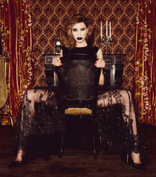 Shooting ENIGMΛTIC avec Mathilde Danielle pour Gezno Magazine