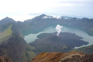 Danau Segara Anak Gunung Rinjani Lombok