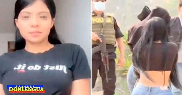 ATENCIÓN PAPÁS | Tiktoker venezolana detenida en Perú por traficar personas