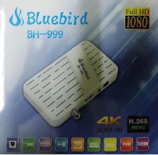 احدث ملف قنوات عربى وانجليزي لرسيفر Bluebird BH-999 بتاريخ 1-6-2019