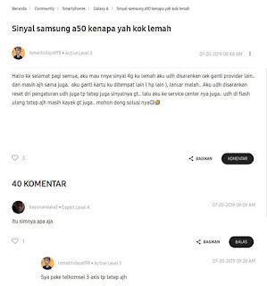 Kelemahan Samsung Galaxy A50