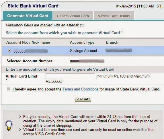to get sbi credit card