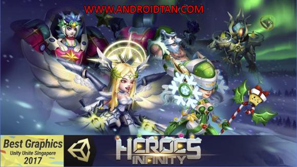 Heroes Infinity Mod Apk v1.12.9 Unlimited Coins Gems Terbaru