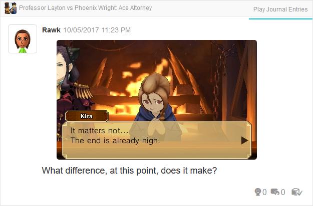 Professor Layton vs. Phoenix Wright Ace Attorney Final Witch Trial Kira