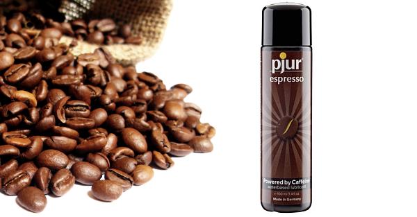Żel nawilżający z dodatkiem kofeiny Pjur Espresso [test - recenzja - opinia]