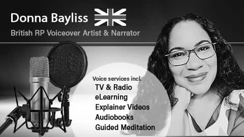 Professionally record a female british voice over for you - female voice over actors