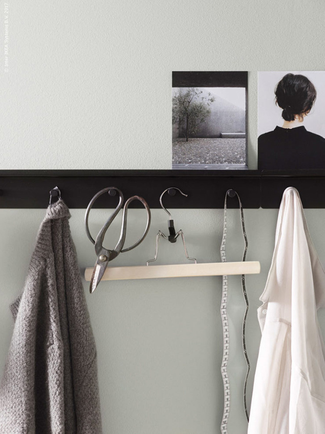 T D C Interior Styling With Peg Rails