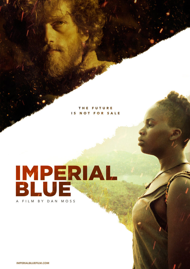 imperial blue poster