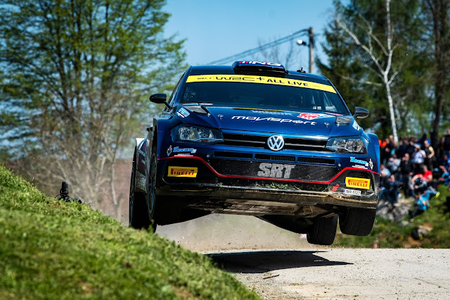 VW Rally car