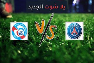 نتيجة مباراة باريس سان جيرمان وستراسبورج اليوم السبت 14-08-2021 الدوري الفرنسي