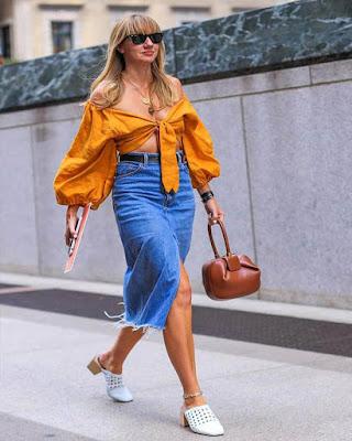 Outfits naranja casuales de verano y primavera