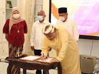 Forkopimda Ponorogo menerima Kunjungan Group of Development Technologies and Construction Companies (GDTC) Maroko