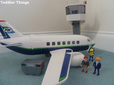 Playmobil 5261 Cargo and Passenger Aircraft review