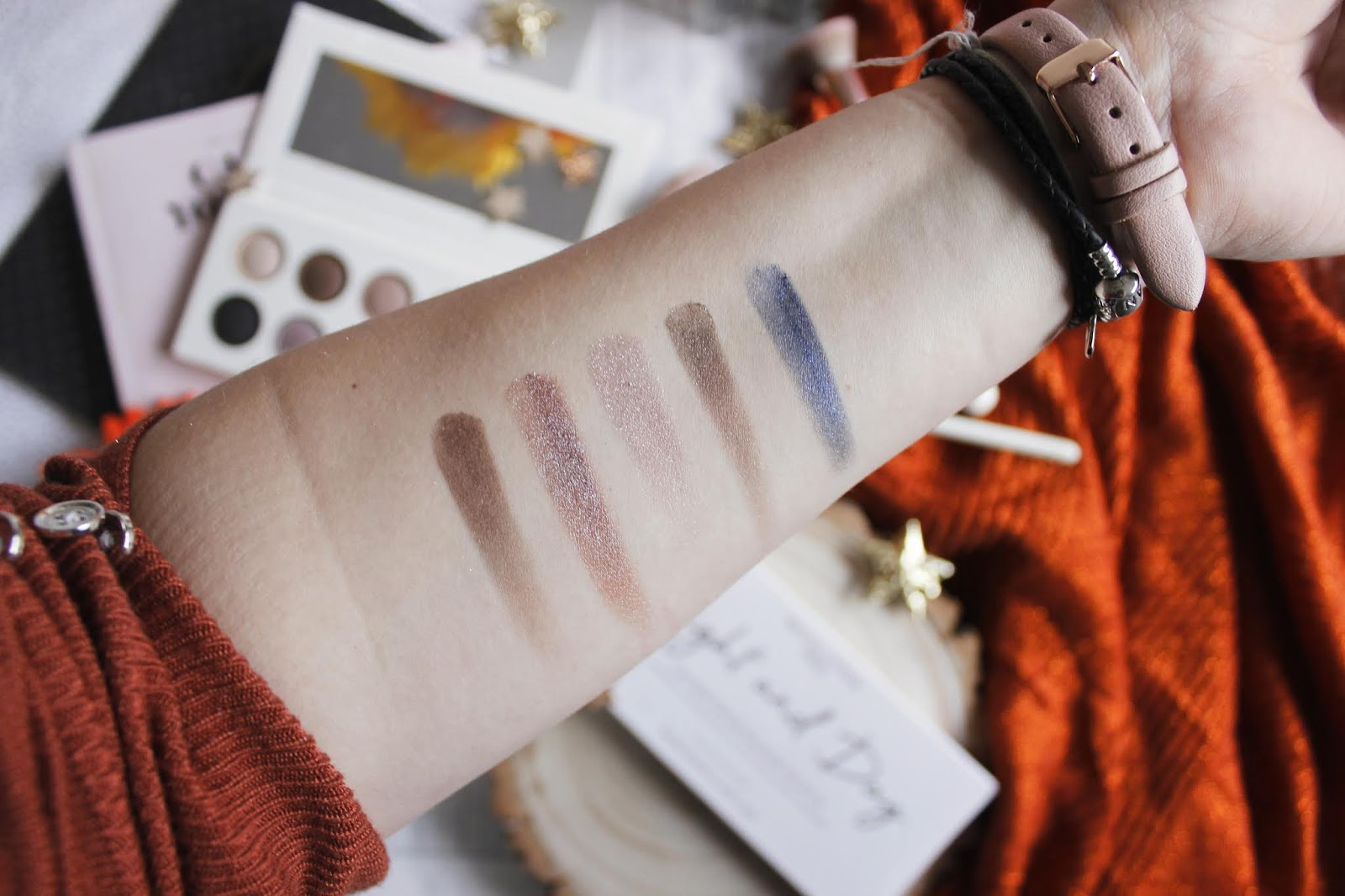 night and day makeup revolution palette review - see the stars