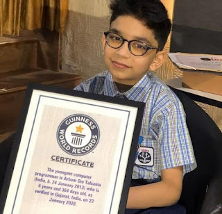 guiness world record in programing arham