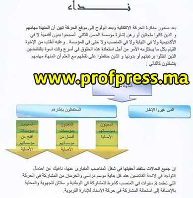 نداء:الأساتذة الذين درسوا الجالية المغربية في الخارج يفقدون أقدميتهم!!!!