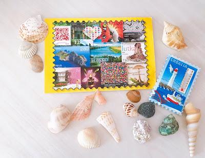 kartpostal ve magnet