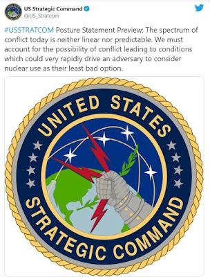 STRATCOM nuclear tweet