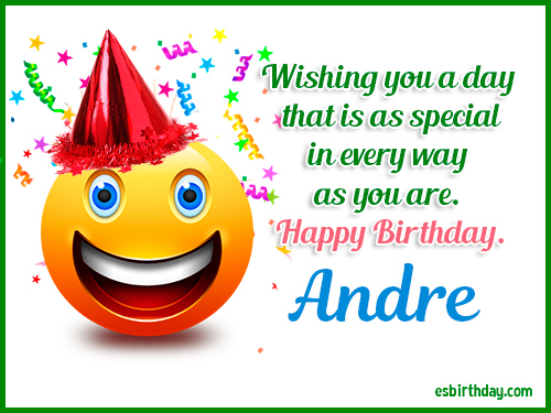 happy birthday andre Happy Birthday Andre   Happy Birthday images for Name happy birthday andre