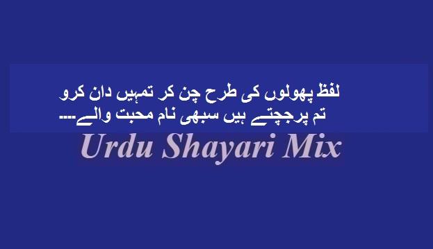 Lafz pholoon ki tarah, Love poetry, Love shayari