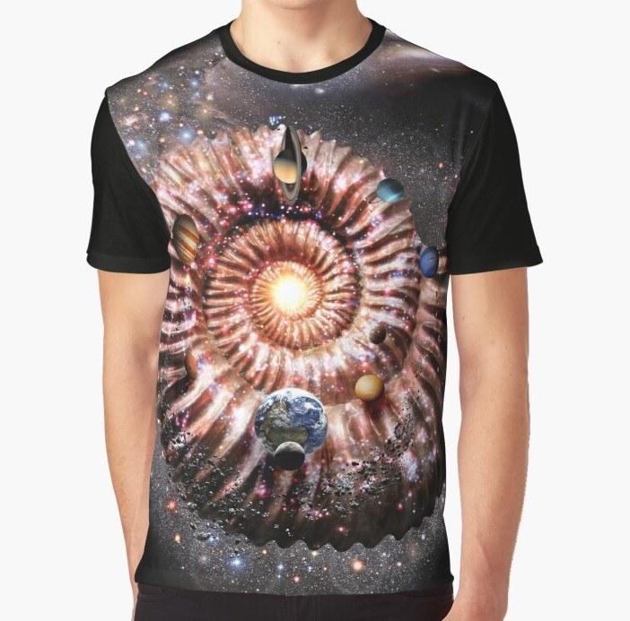 GALAXY AMMONITE T-shirt